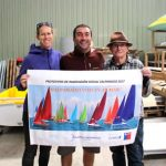 Angela, Tommy & Chris at Hansa factory Nowra