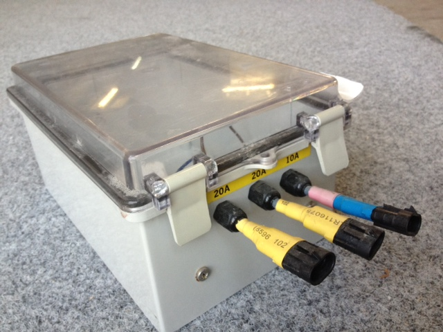6719 - Battery box, for 26AH batteries