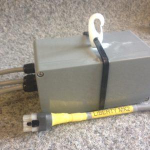 6251 - Control box for 303, 40rpm (#6151) & 80rpm (#6152) mainsheet, single speed helm, manual tacking jib