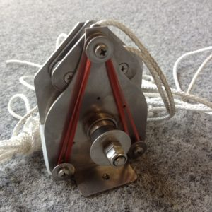 6505 - Jib sheet winch, 303S, Liberty self tacking jib (Soho motor)