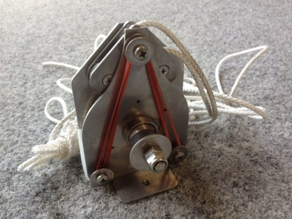 6505 - Jib sheet winch, 303S, Liberty self tacking jib (Soho motor)