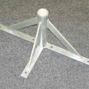 5351 - Stand on triangle base. Stainless Steel