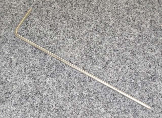 "3402.1 - Rudder pin, 1/4"". (universal, all except SKUD) MKI"