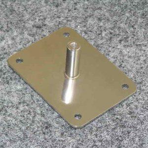 2303 - Joystick Spigot - Universal, 3mm stst plate