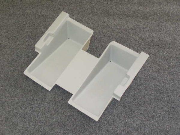 2161 - Liberty seat mount. Fibreglass underseat chassis.