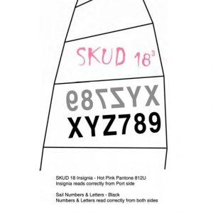 4604 - SKUD 18 national code per letter