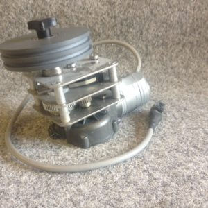 6431 - 2.3S helm winch single speed, incl drum