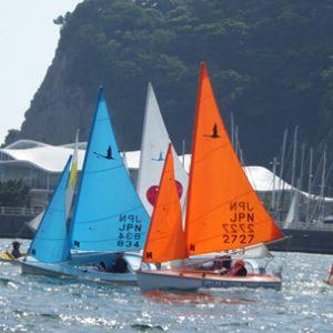 Hansa 303 sailing in Japan