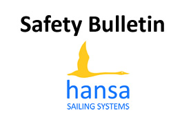 Hansa logo safety bulletin