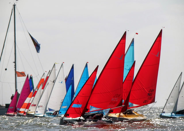 Liberty, 2016 Worlds Medemblik start