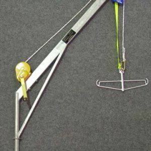 5311 - Flush mount C Crane. Stainless steel (includes fall arrestor, spreader bar & SS winch
