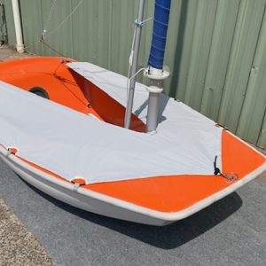2.3 skirt - looking bow to stern
